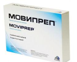 Подготовка к колоноскопии с помощью препарата Мовипреп