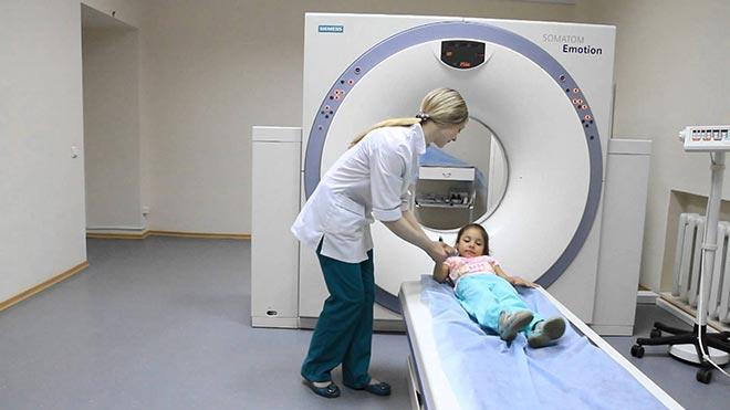 Процедура МРТ для детей